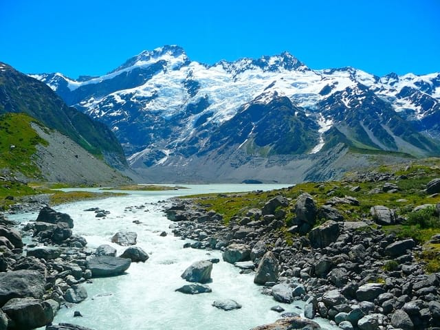 New Zealand Mount Cook Alpine