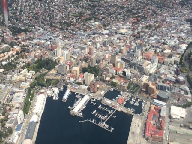 Top things to do in Tasmania Australia - Hobart City Scenic Flight