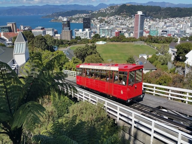 Wellington New Zealand Tram Town