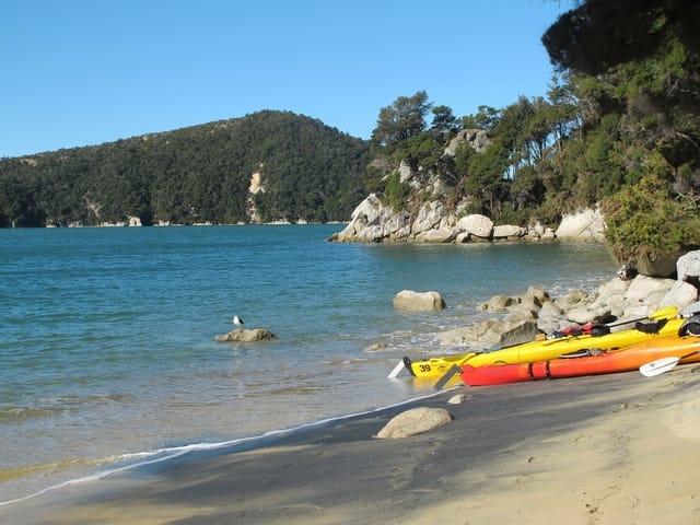 New Zealand Kayaks Water