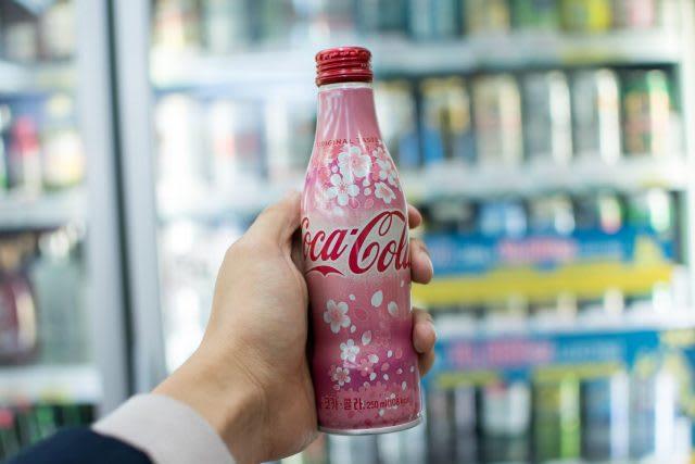 cherry blossom coke