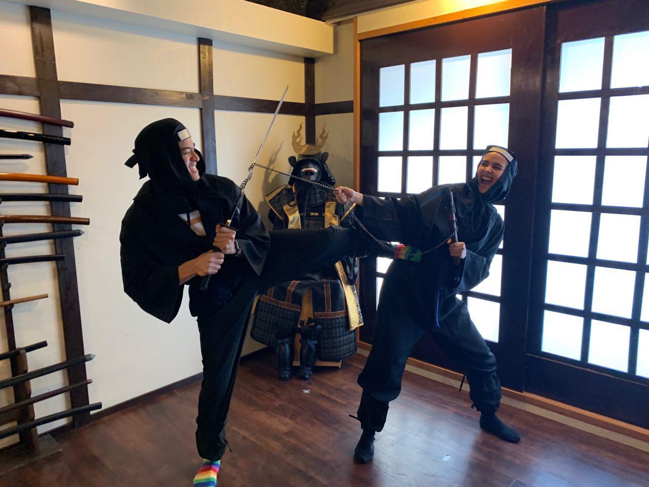 osaka ninja workshop
