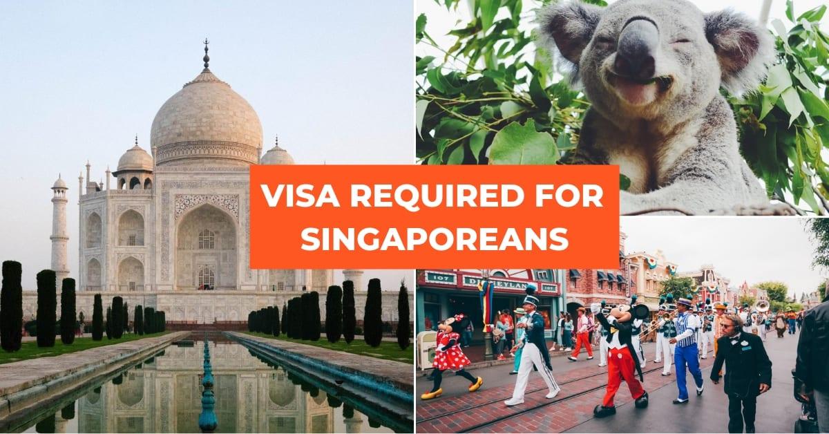 visa required singaporeans 9