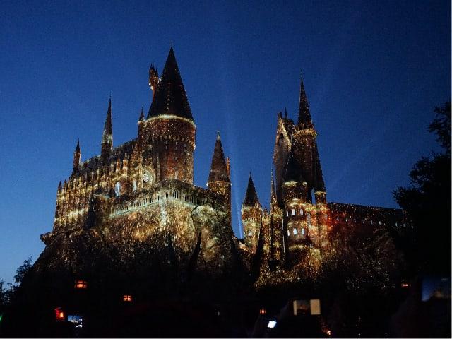 Hogwarts Castle at USJ