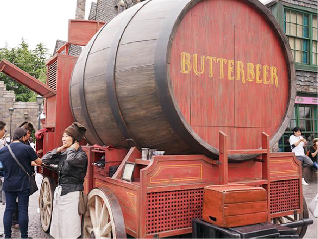 Butterbeer cart at usj