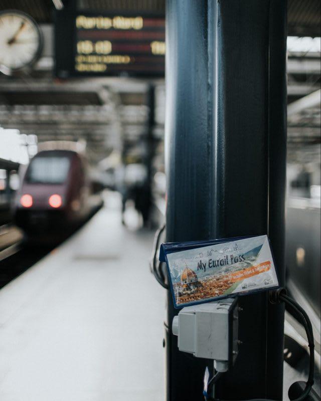บัตรโดยสารรถไฟยุโรป Eurail Pass
