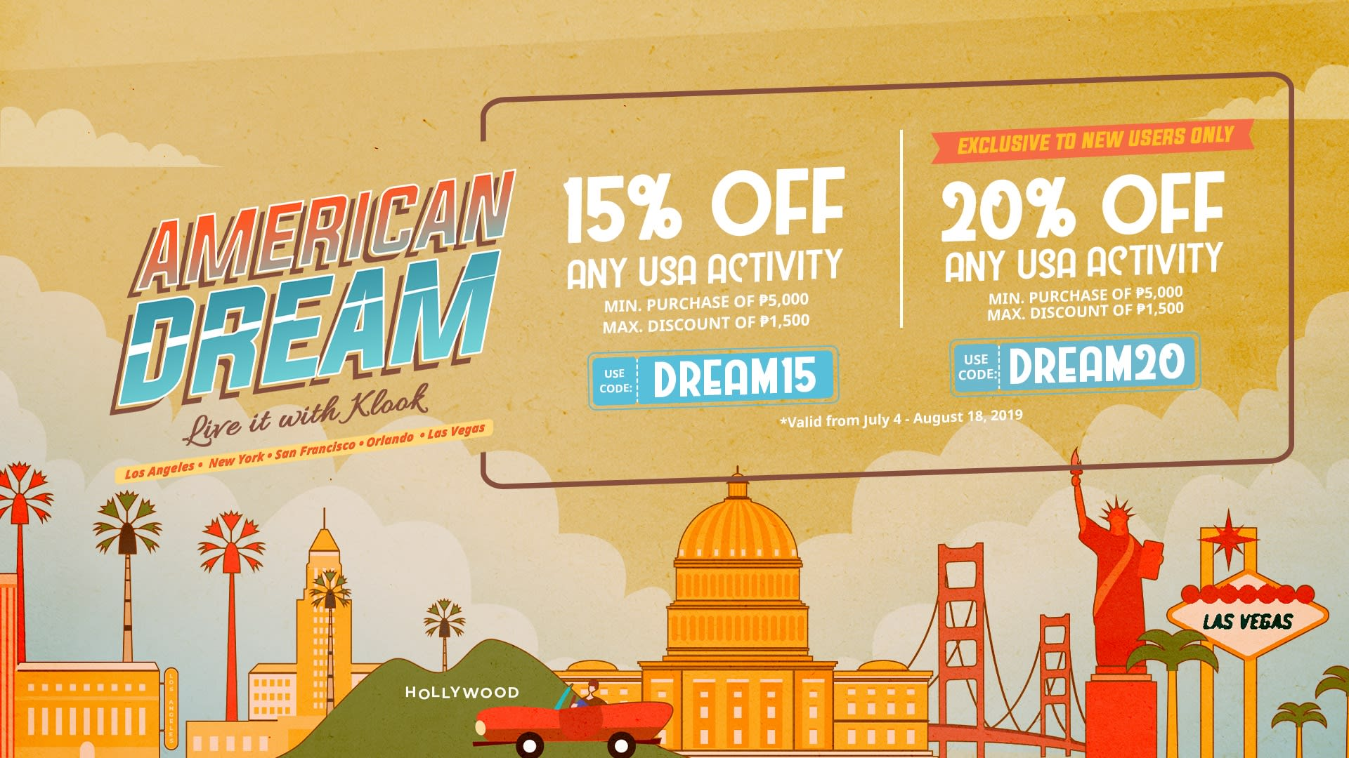 american dream klook