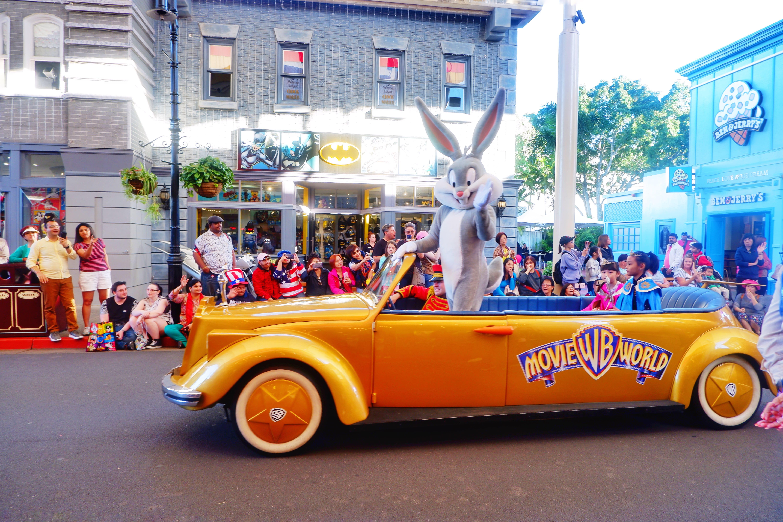Warner Bros Movie World star parade