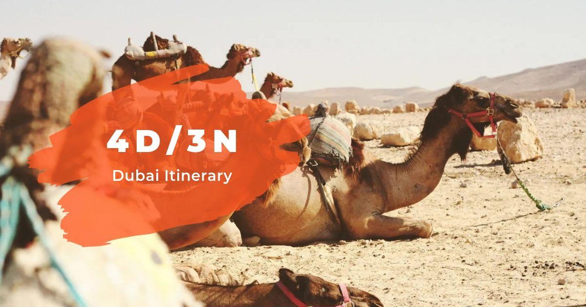 4D/3N Dubai Itinerary