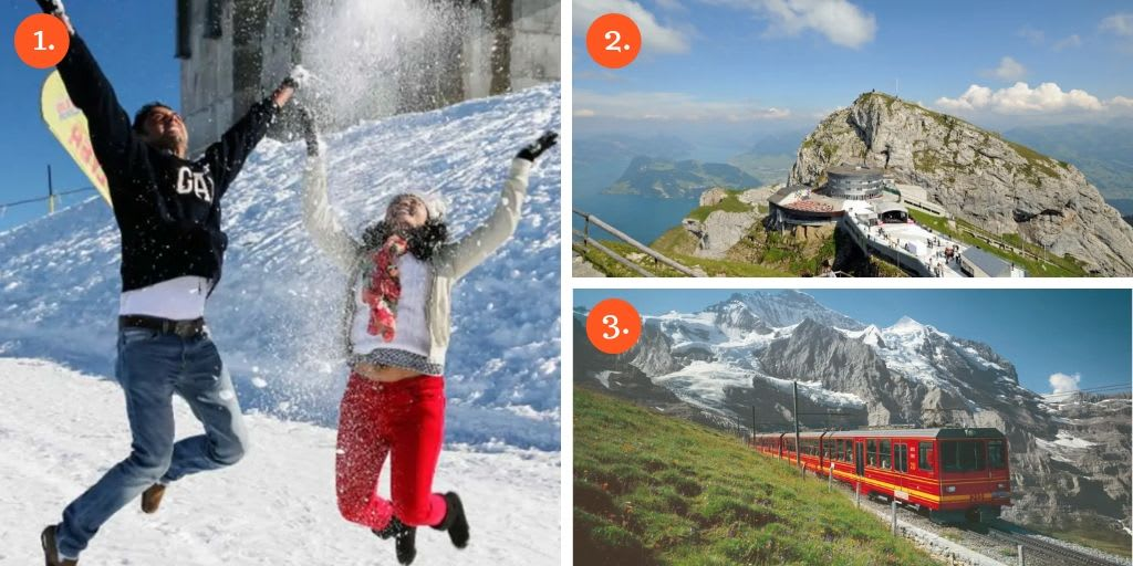 Switzerland Top Things-to-do