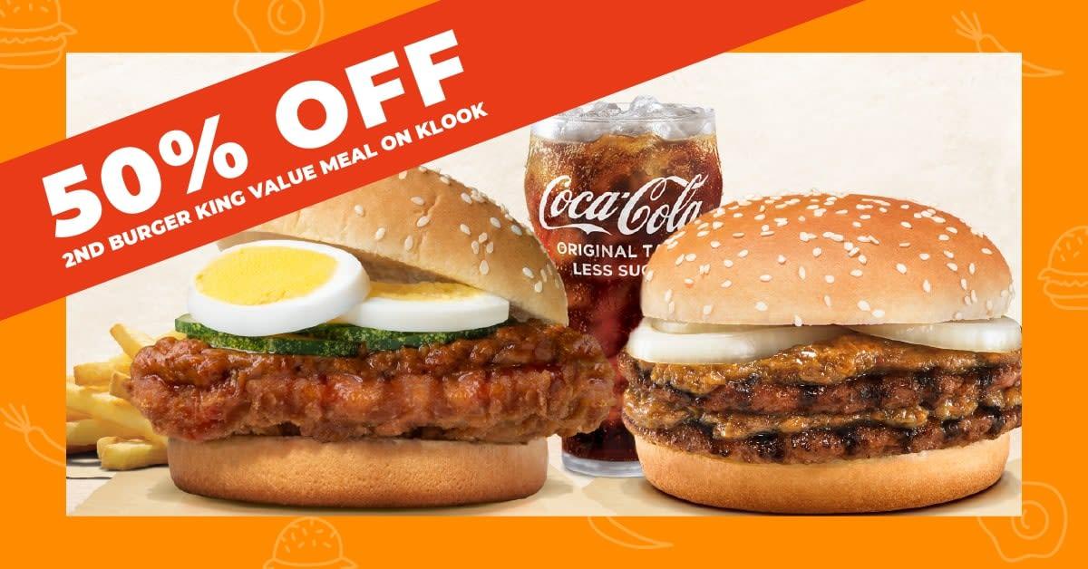 Burger King Laksa Burger offer