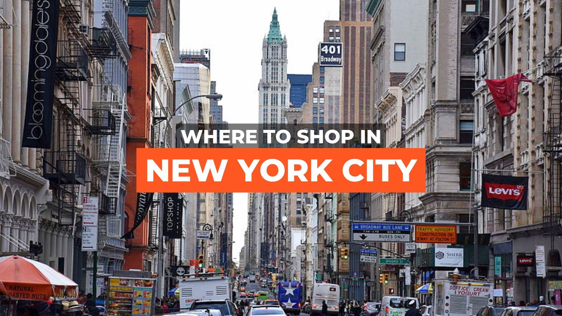 new york shopping
