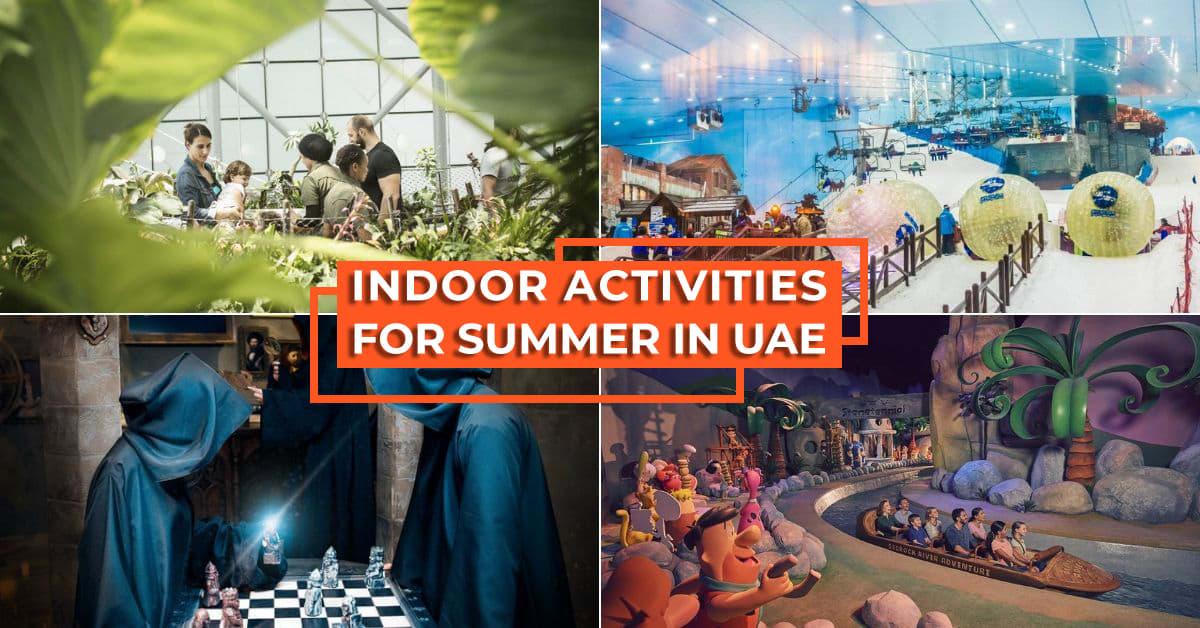 Indoor Activities Summer in Dubai Cover