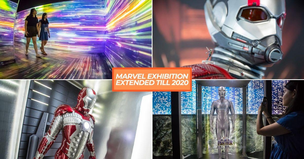MARVEL EXHIBITION EXTENDED TILL 2020
