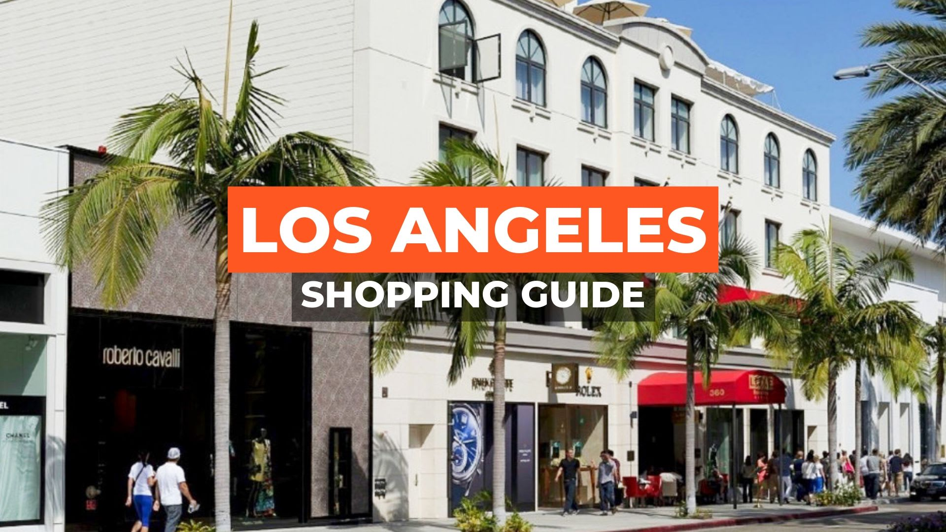 los angeles shopping