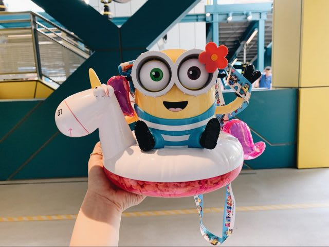 universal studios japan minion unicorn popcorn bucket