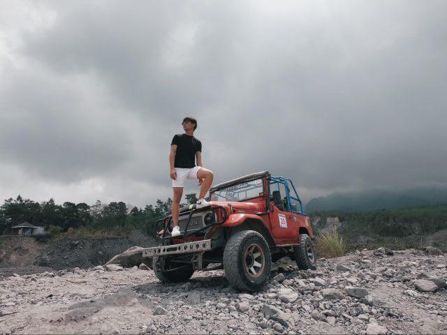 yogyakarta merapi jeep