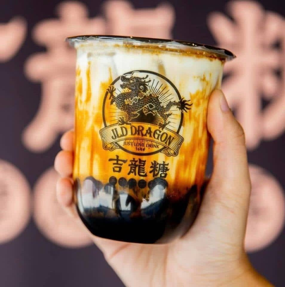 jld dragon milk tea bubble tea