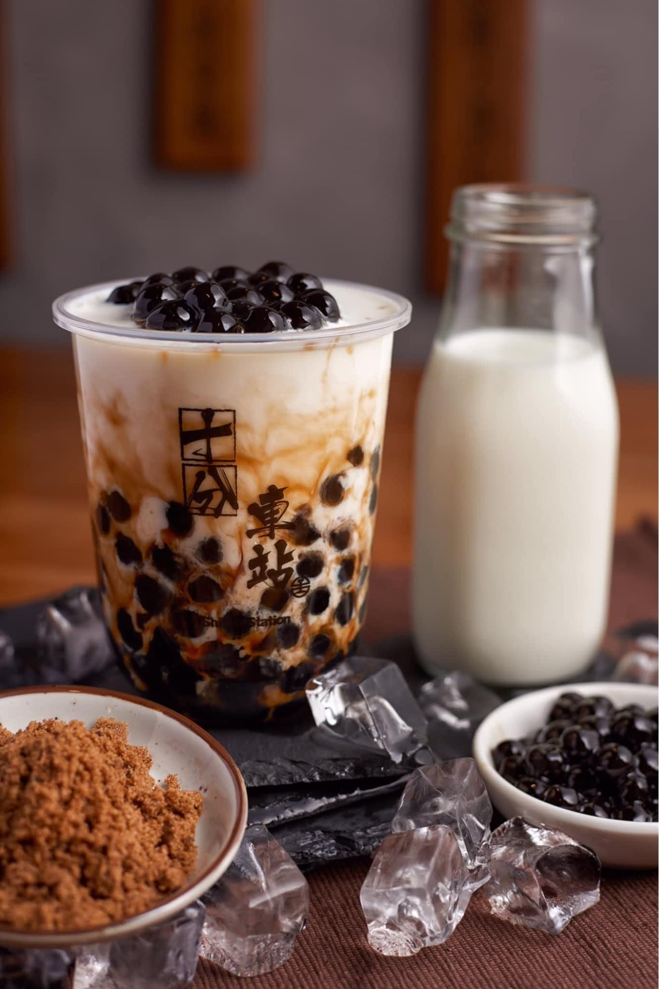 shifen station signature marblearl milk tea