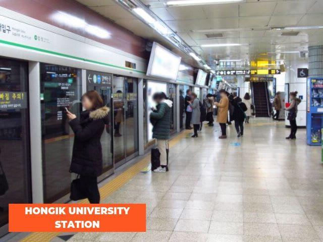 hongik-university-station
