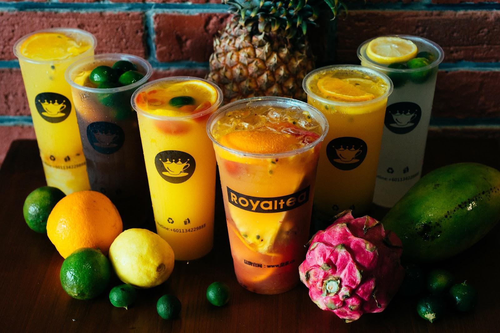 royaltea fruit series