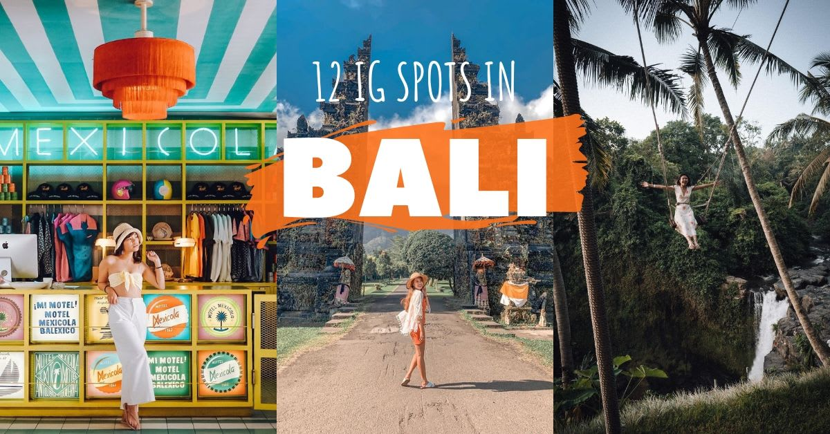 instagram spots bali cover page