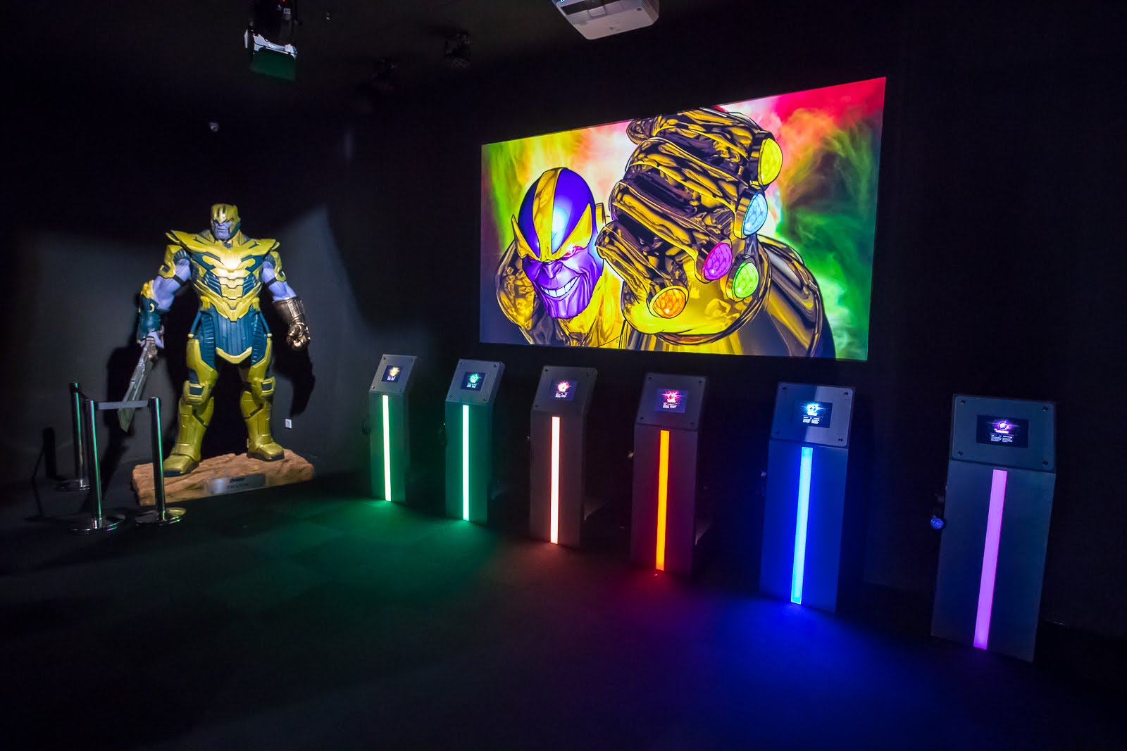 marvel exhibition infinity stones