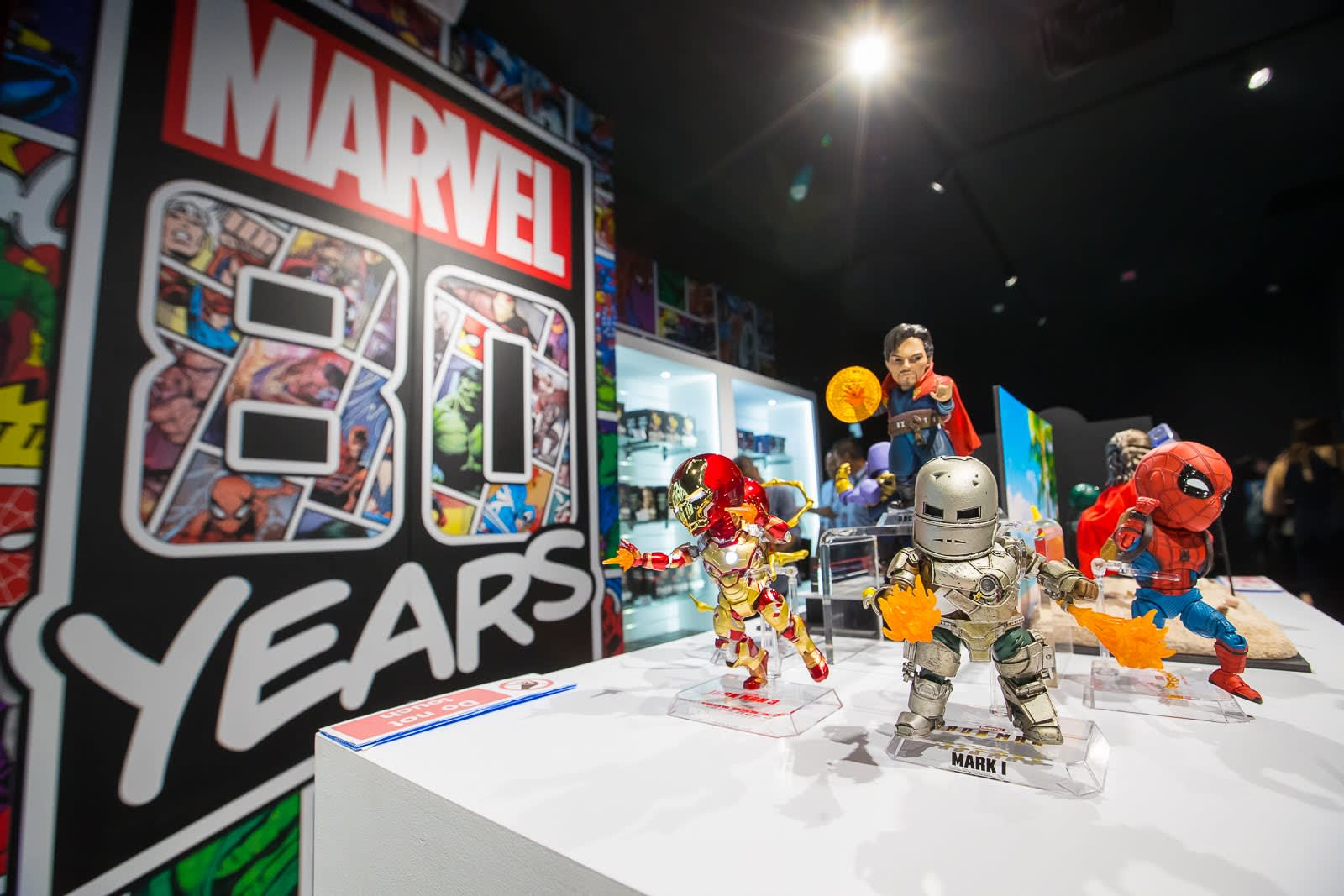 marvel exhibition merch