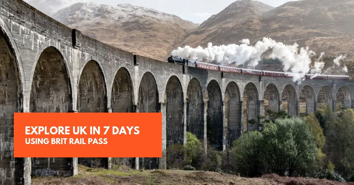 UK Itinerary - Brit Rail Pass