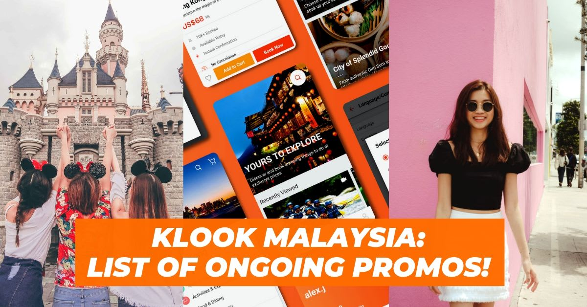 Klook Promo Codes: A List of Ongoing Promos & Deals On