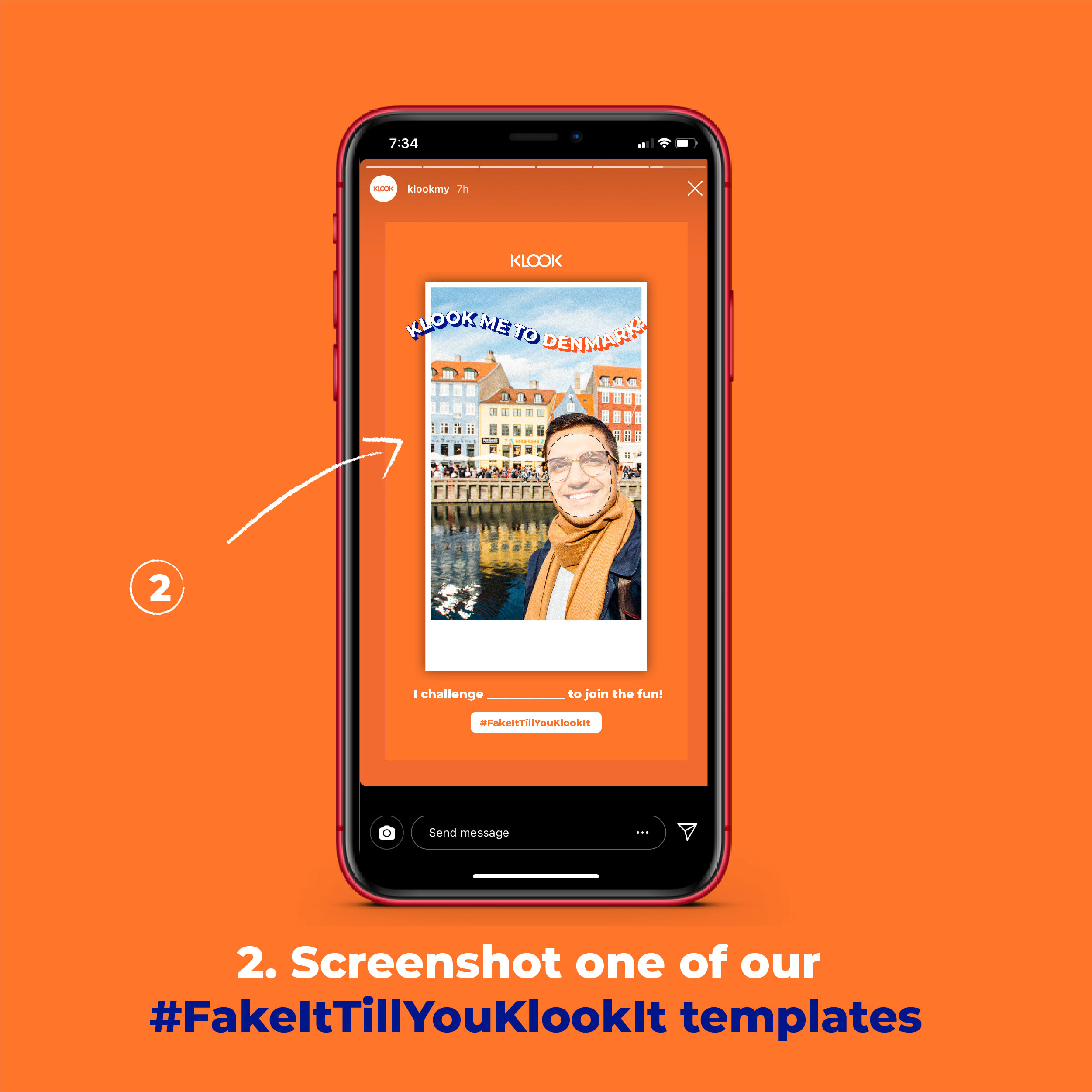 FakeItTillYouKlookIt - Post On IG Story To Win A FREE Trip