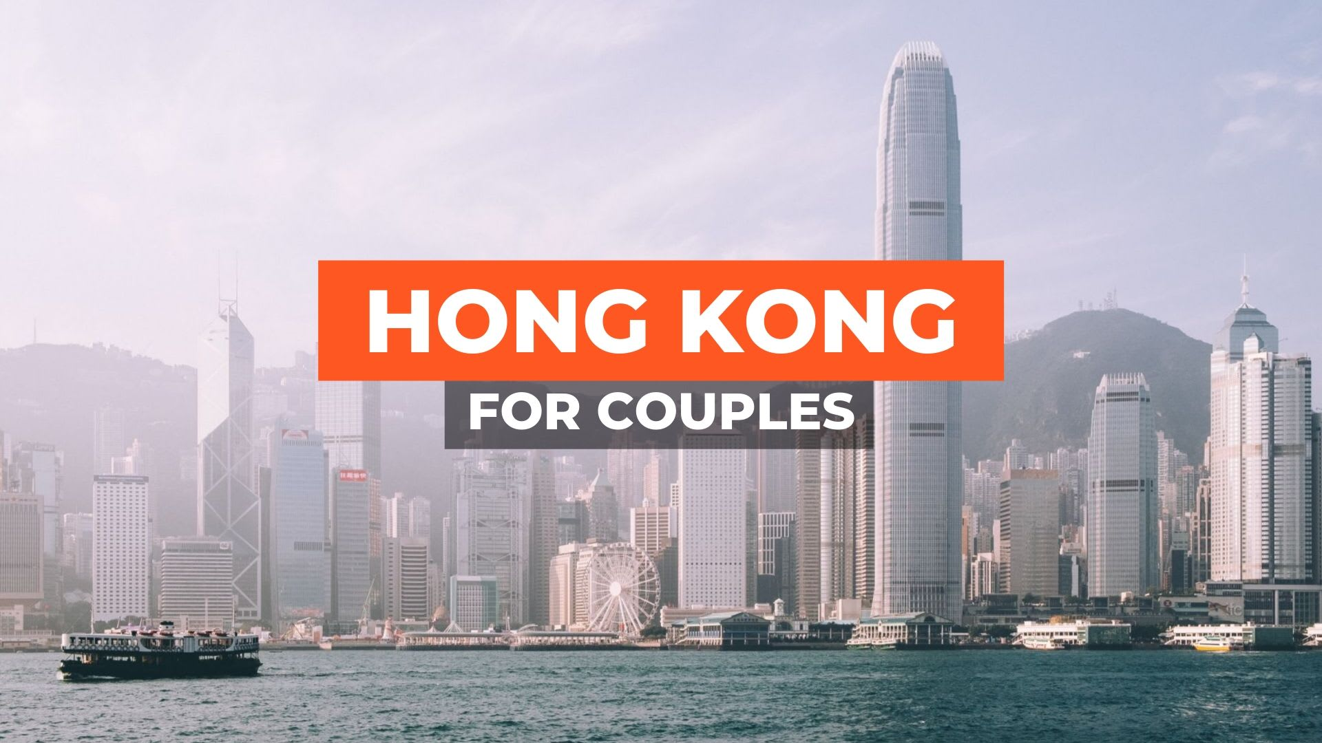 HONG KONG COUPLES