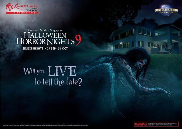 Halloween Horror Nights 2019 Poster.Universal Studios Singapore S Halloween Horror Nights Is