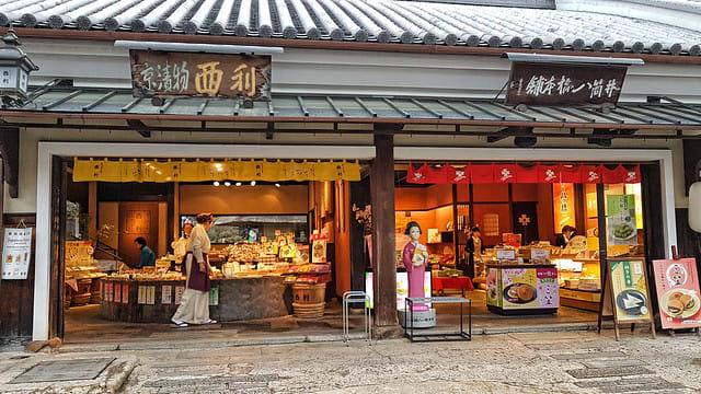 Kiyomizudera Temple souvenirs