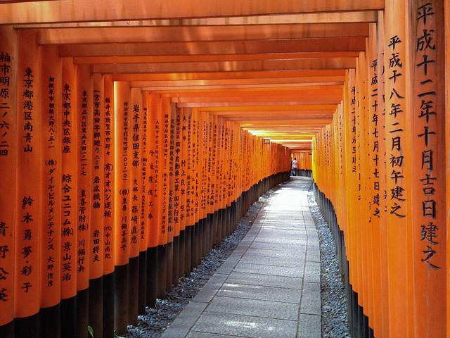 Fushimi-Inari Taisha Shrine Senbon Torii