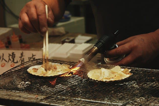 osaka-subway-guide-grilled-scallops