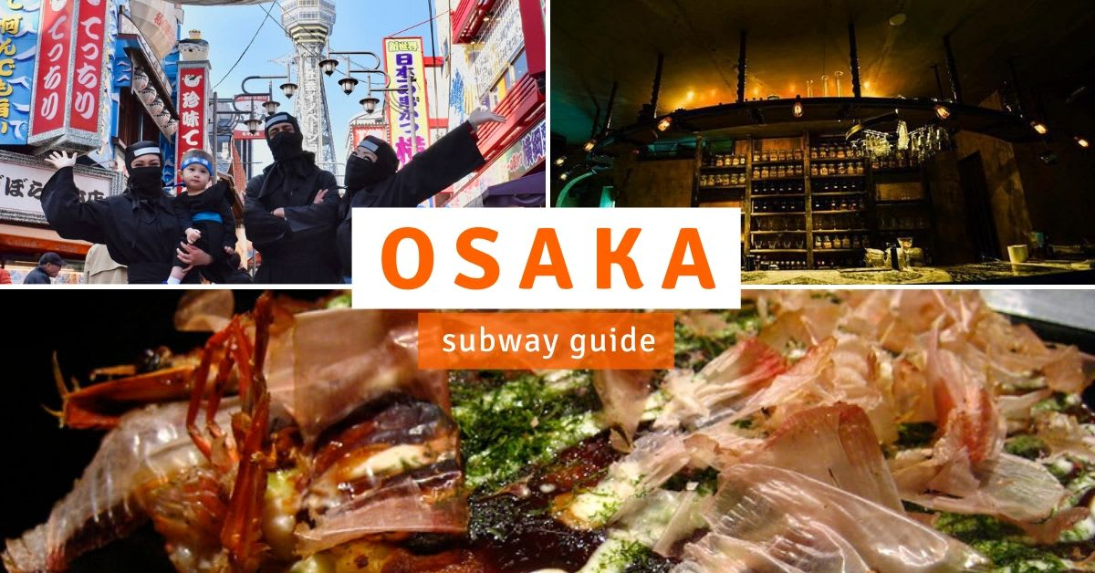 osaka subway guide cover image 1