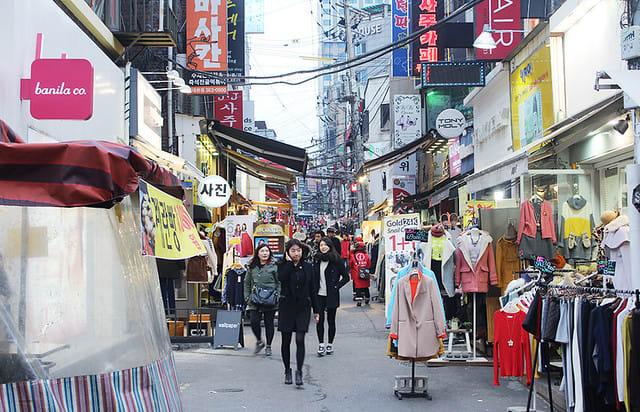 seoul budget shopping edae