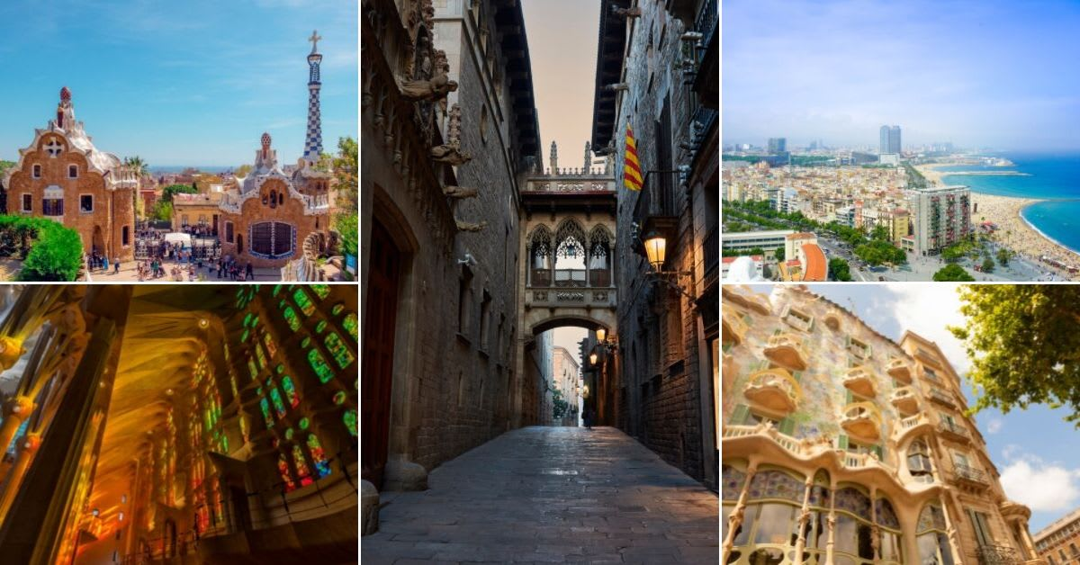 The Definitive Guide To Barcelonas Streets /& Sights Barcelona Step By Step