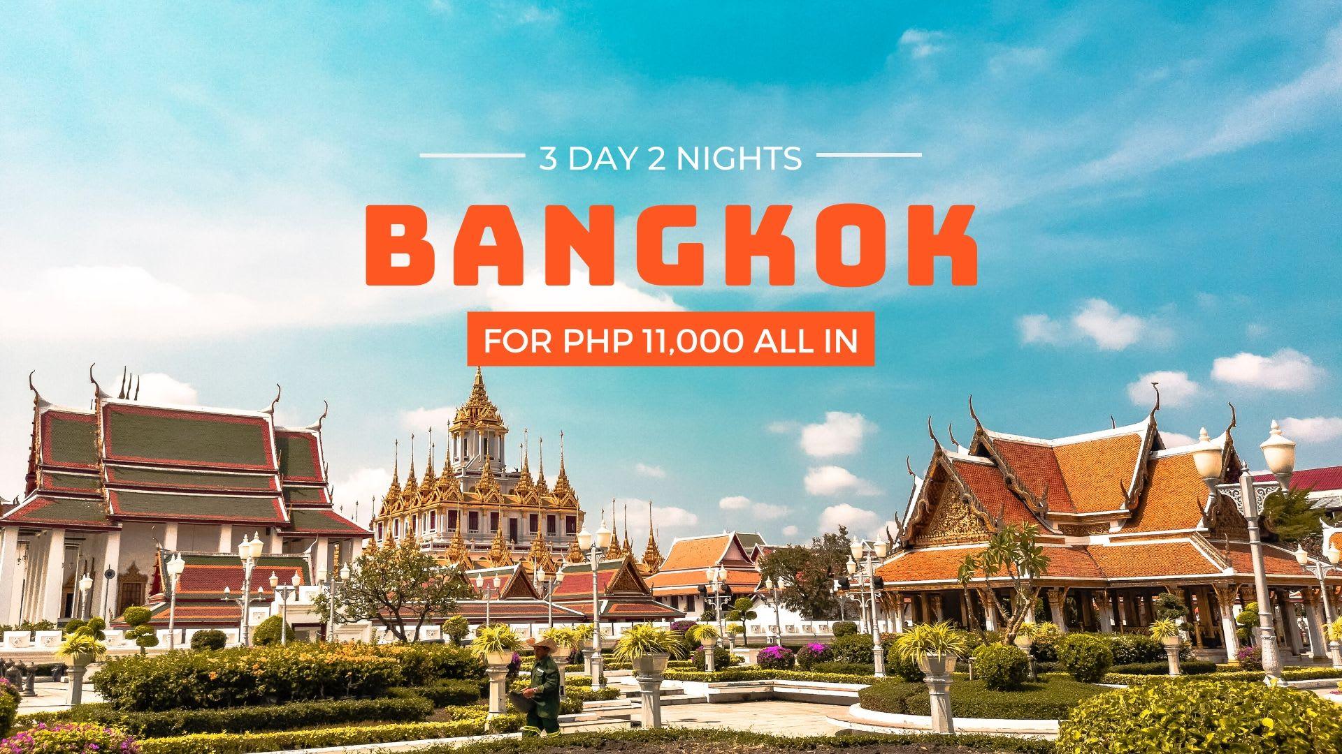 bangkok budget