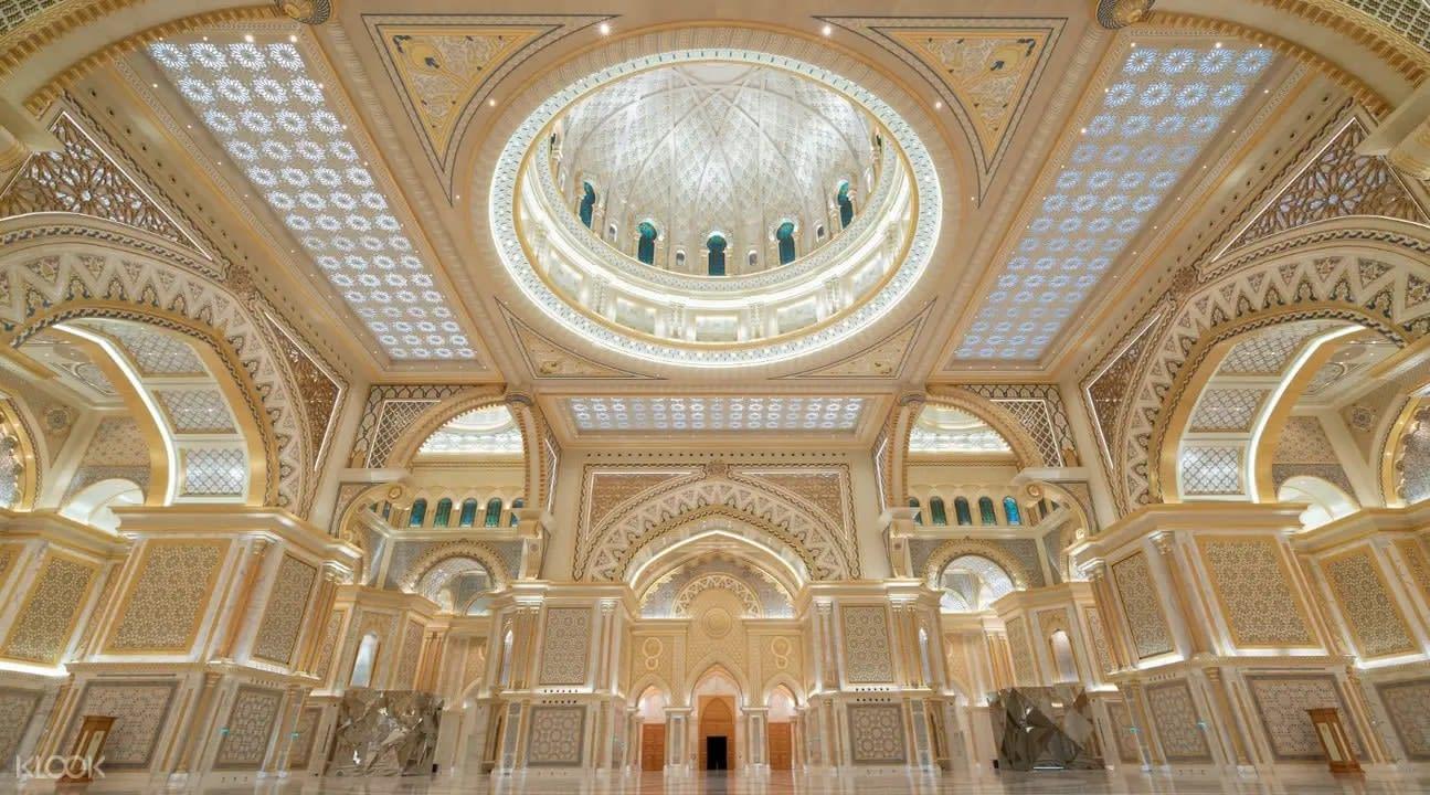 Qasr Al Watan Palace interior