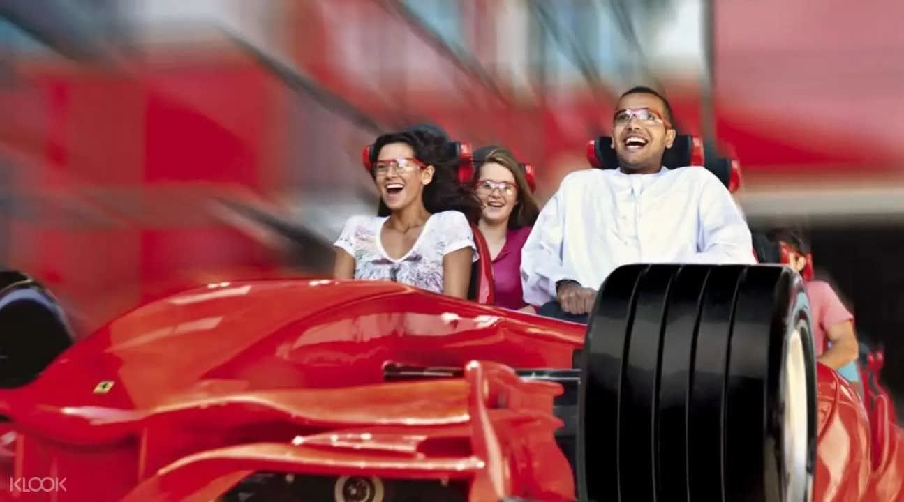 Ferrari World ride