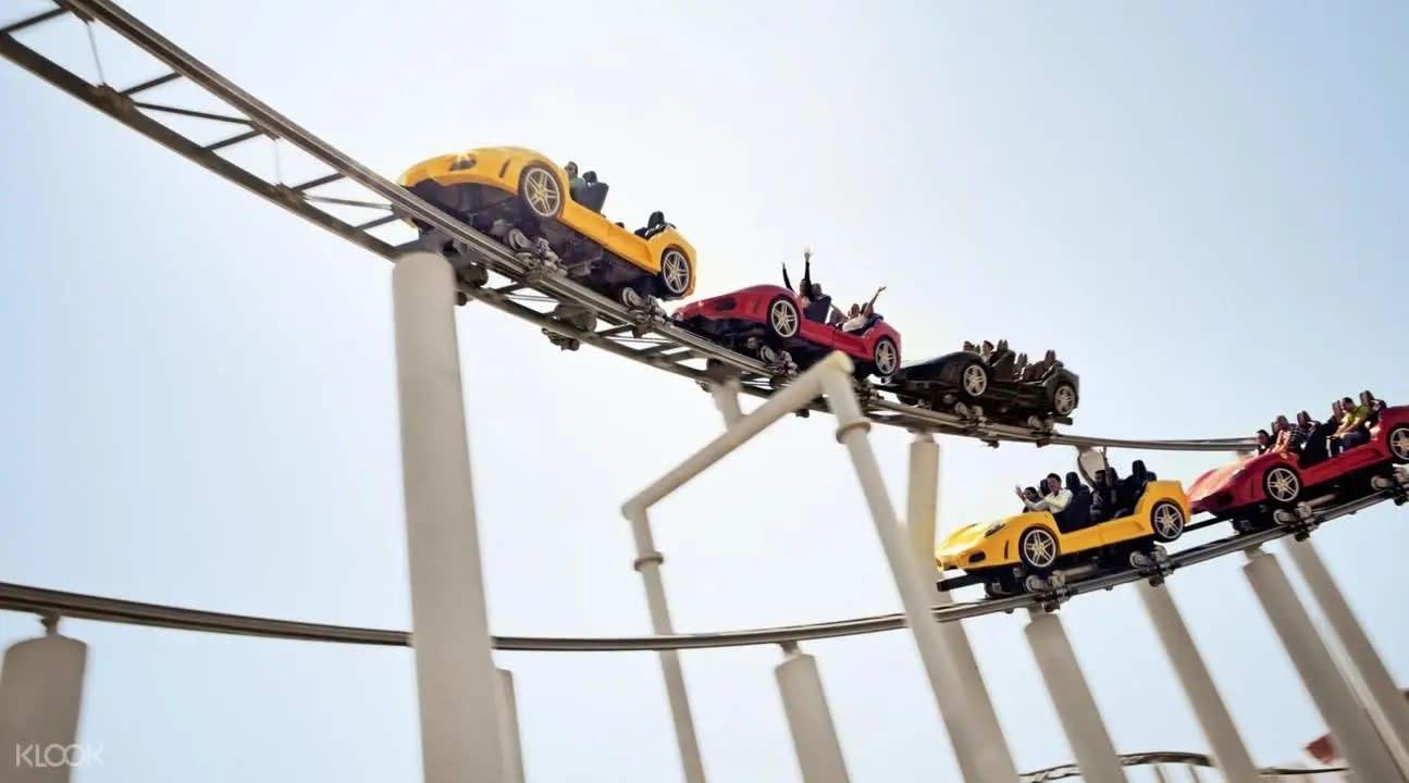 Ferrari World rides Abu Dhabi