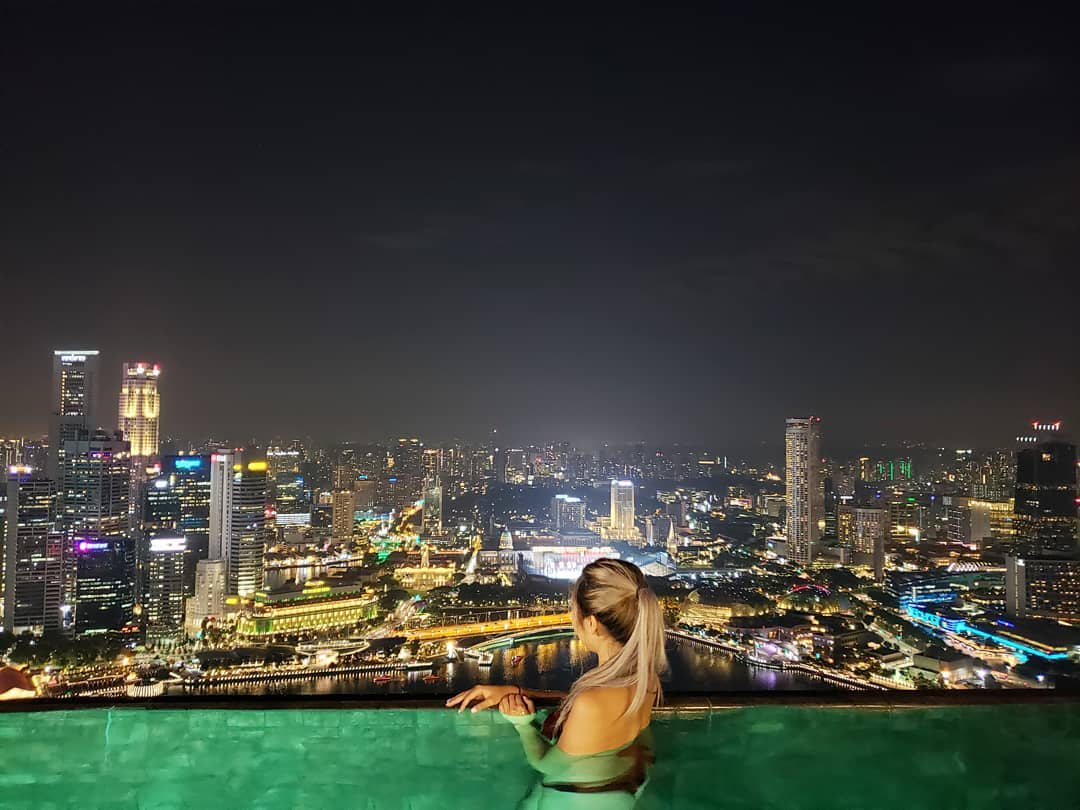 Marina Bay Sands Infinity Pool Singapore 1
