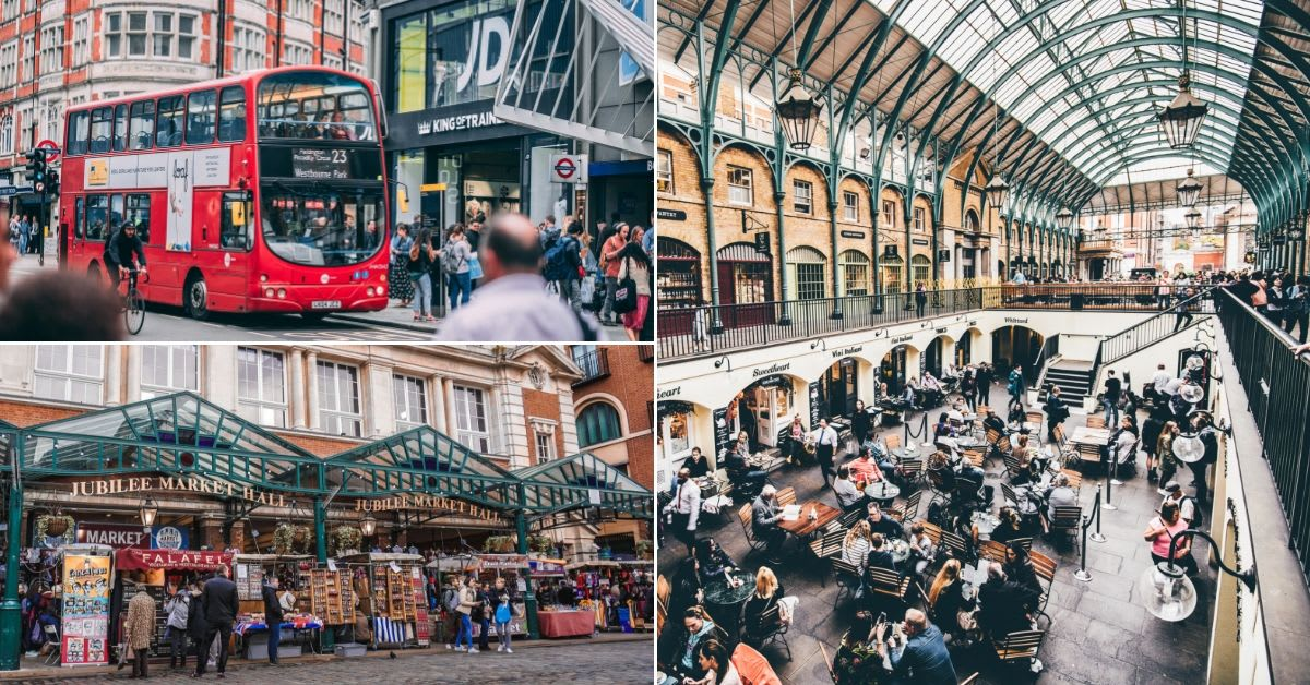 shopping places london