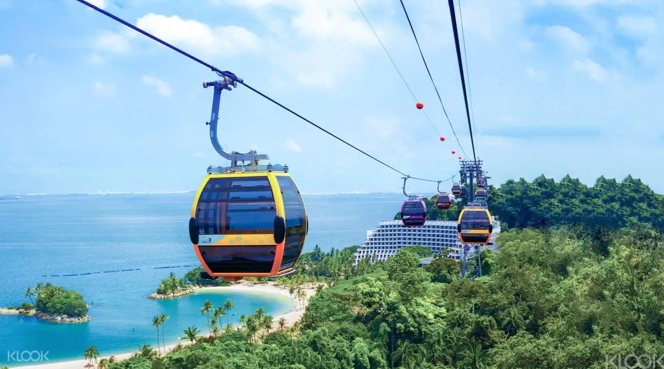 singapore cable car mount faber sentosa