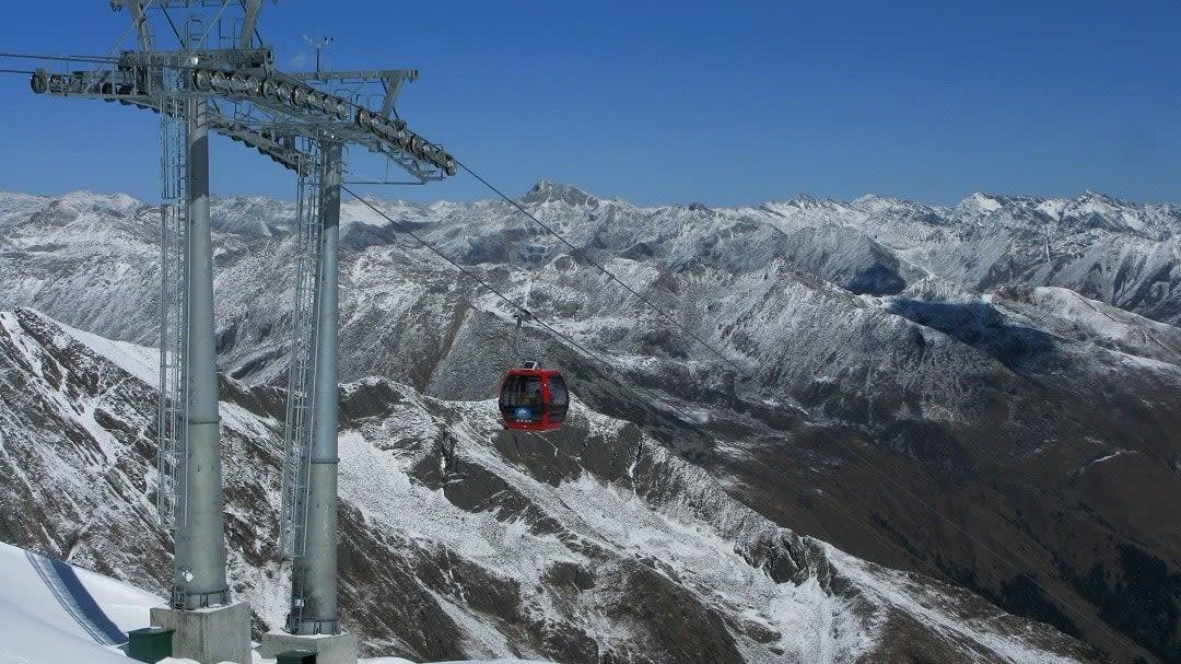 dagu glacier gondola