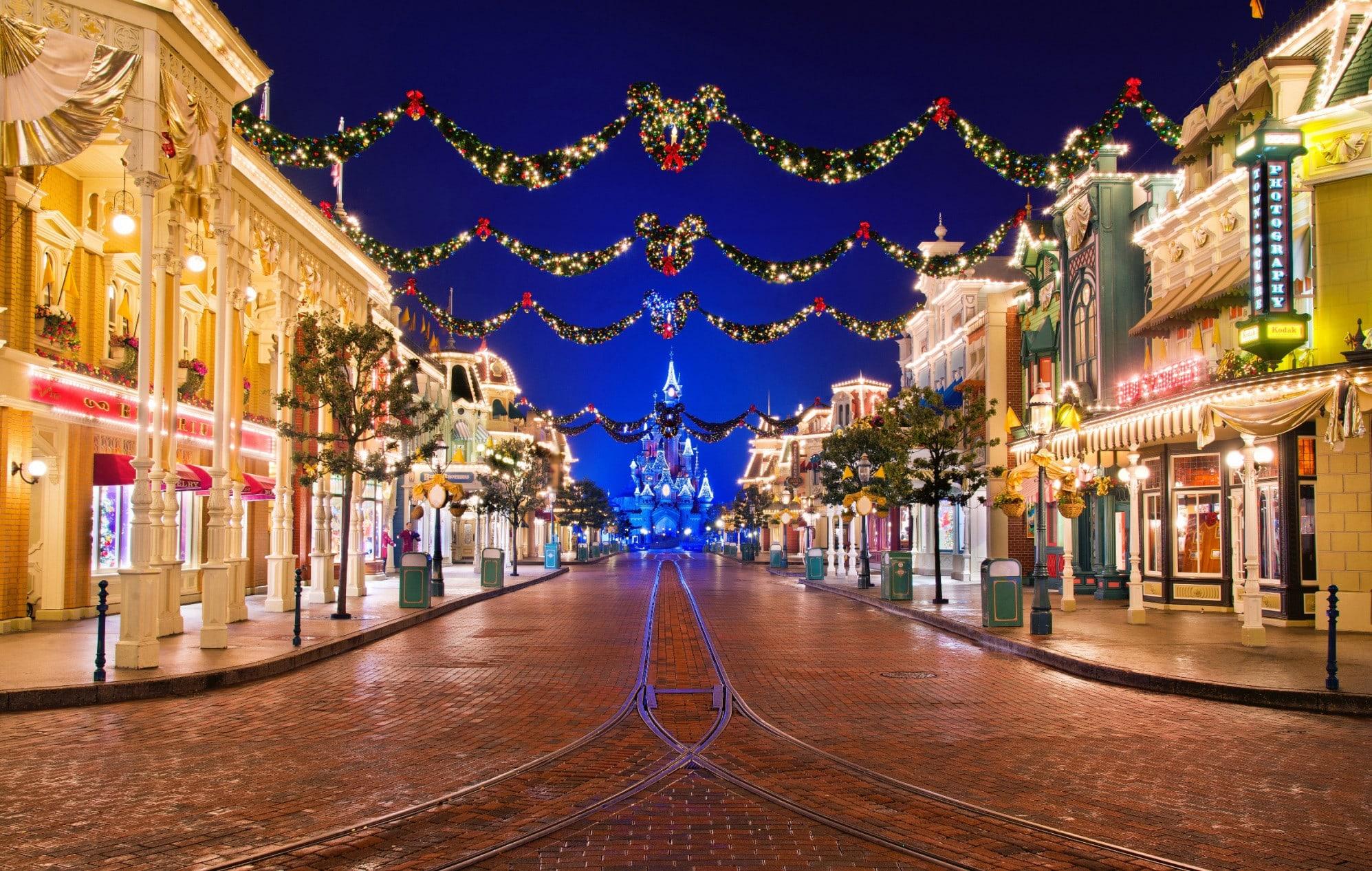 Magic At Disneyland Paris In Winter