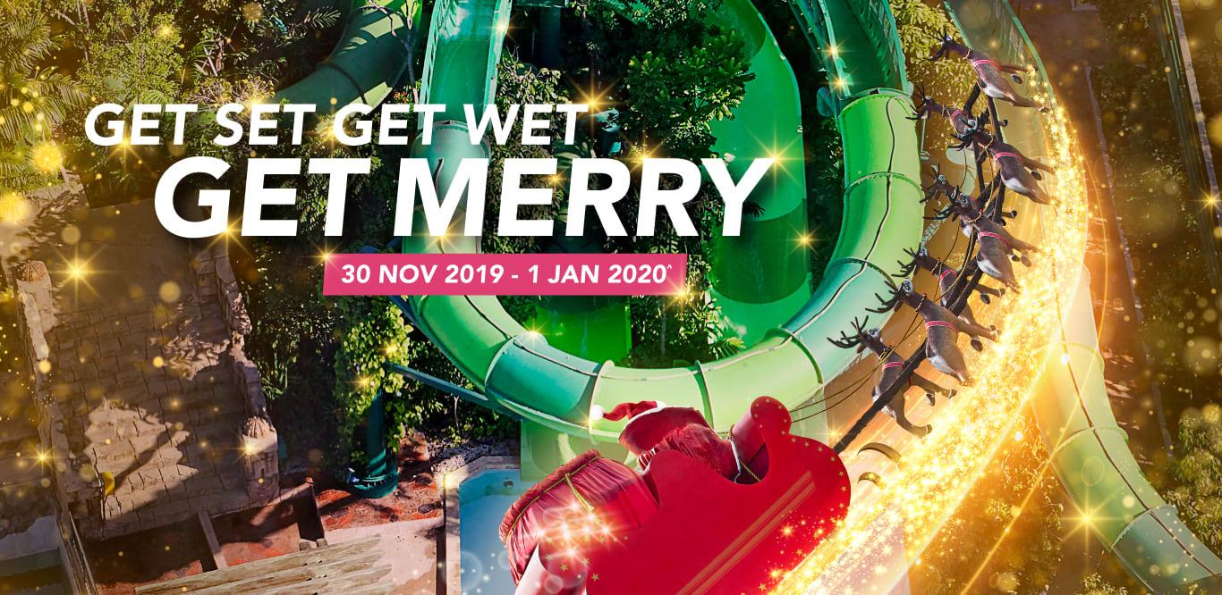 Adventure Cove Waterpark - Get Set Get Wet Get Merry