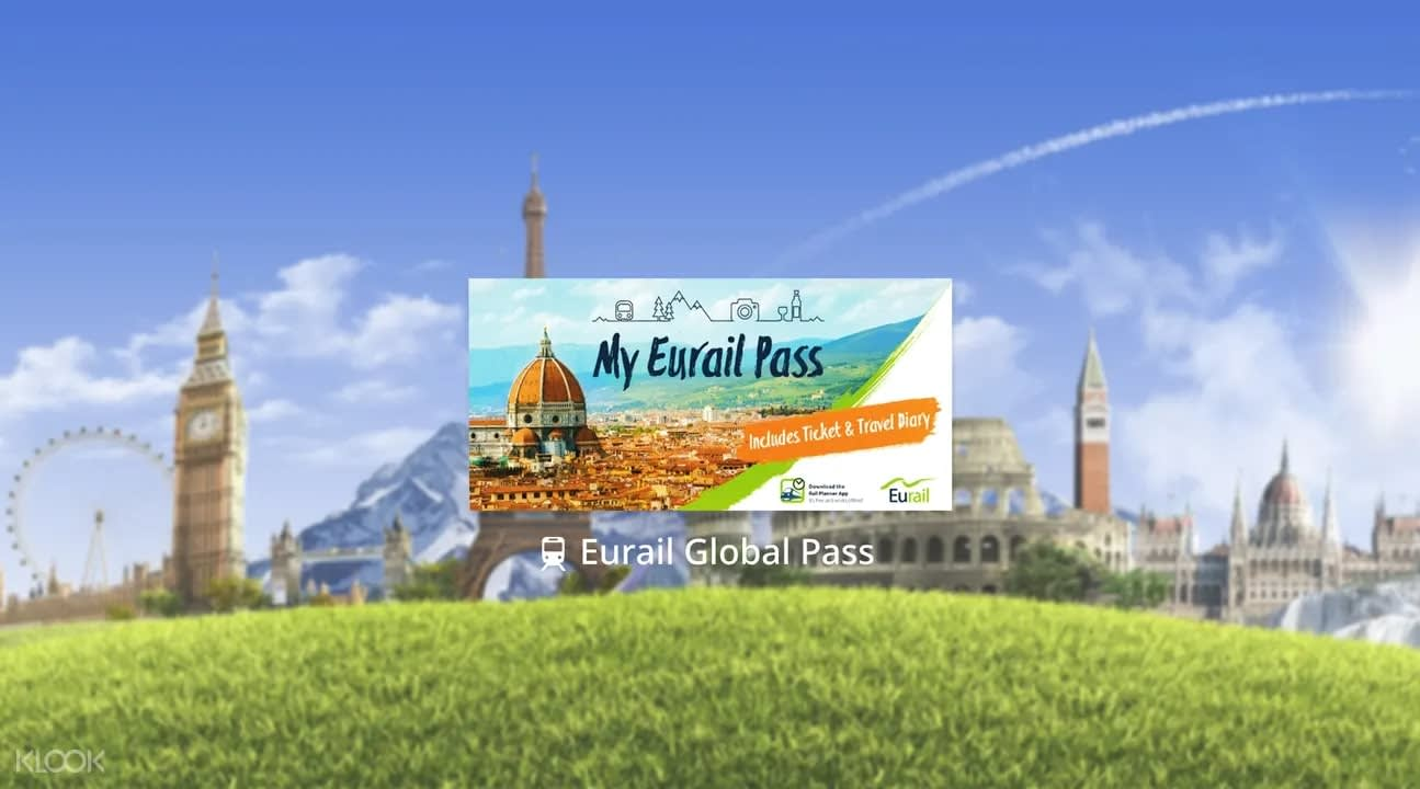 Image Eurail Global Pass